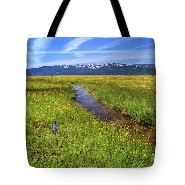 Tote Bag featuring the photograph Goodrich Creek by James Eddy