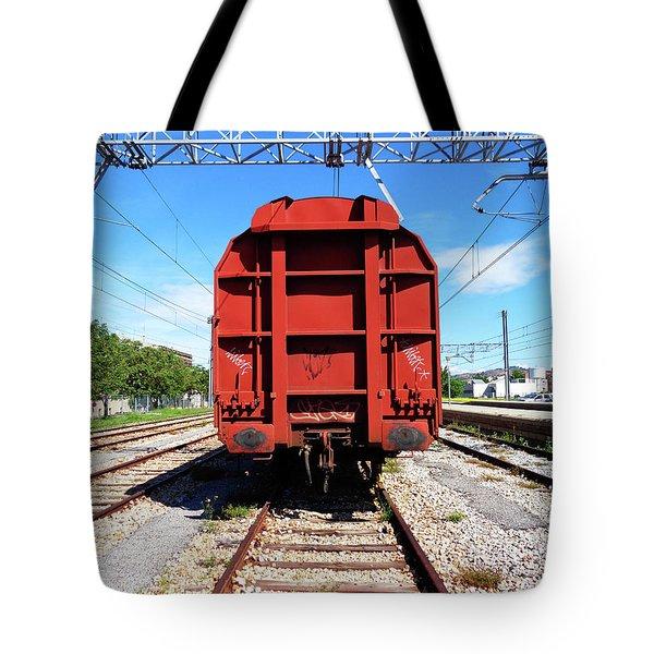 Goods Wagon Tote Bag by Don Pedro De Gracia