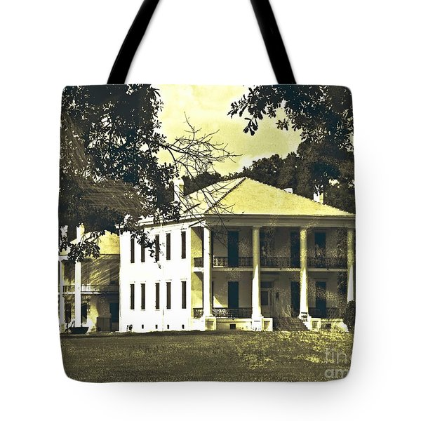 Goodwood Plantation Baton Rouge Circa 1852 Tote Bag
