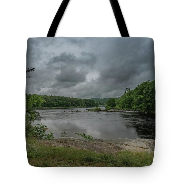 Tote Bag featuring the photograph Googin's Island Revisited by Guy Whiteley