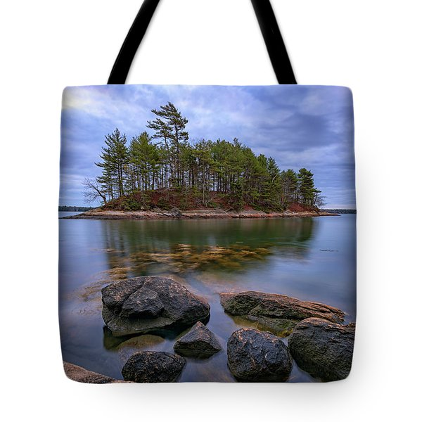 Googins Island Tote Bag