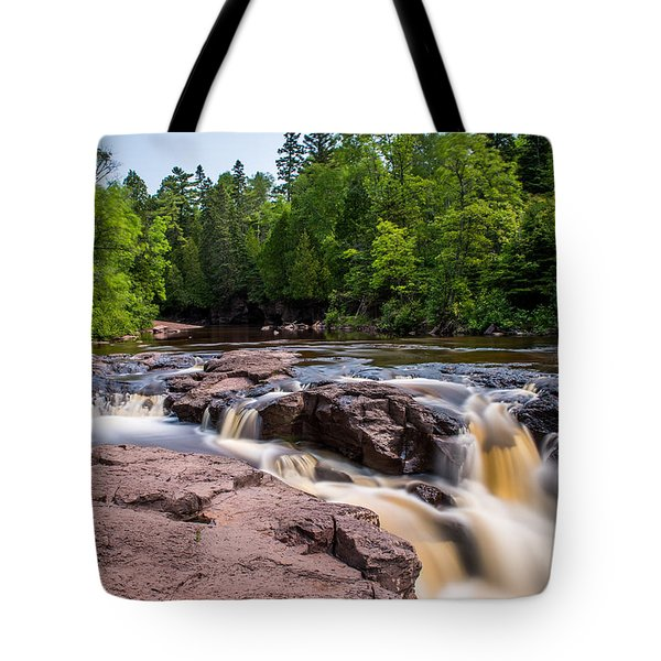 Goose Berry River Rapids Tote Bag by Paul Freidlund