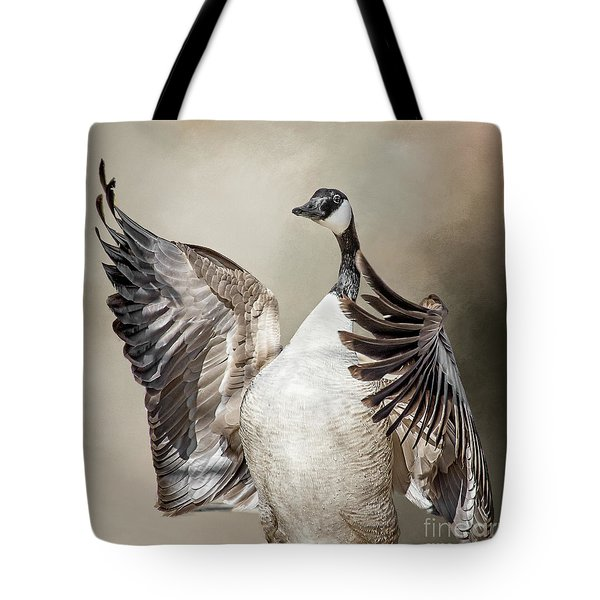Goose Chase Tote Bag