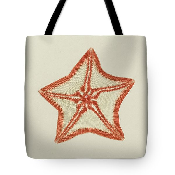 Goose Foot Starfish Tote Bag