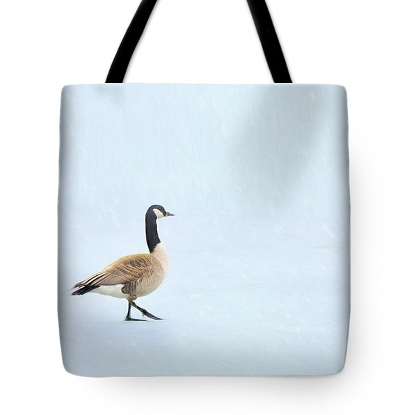 Tote Bag featuring the photograph Goose Step by Nikolyn McDonald