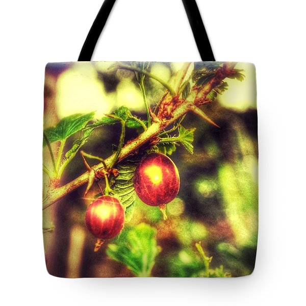 Tote Bag featuring the photograph Gooseberry Fool by Isabella F Abbie Shores FRSA