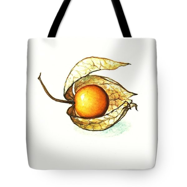 Tote Bag featuring the painting Gooseberry by Heidi Kriel