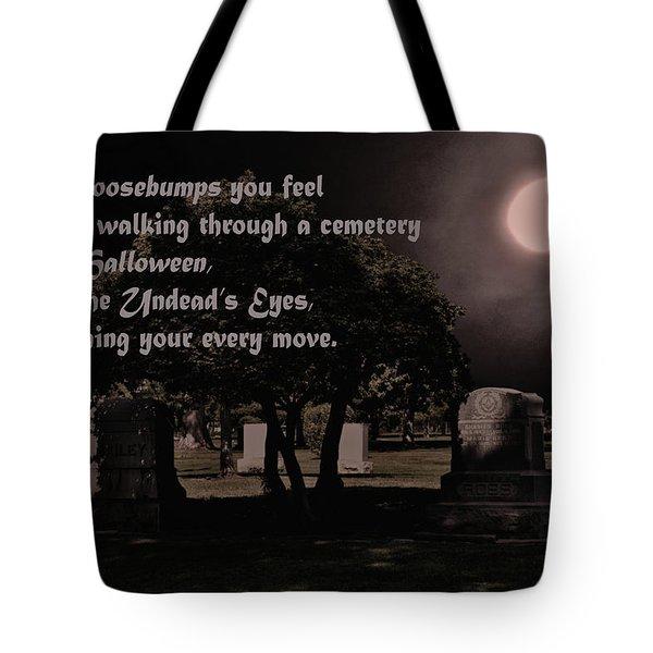 Goosebumps Tote Bag