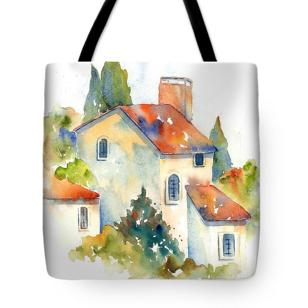 In The Village Of Gordes Tote Bag