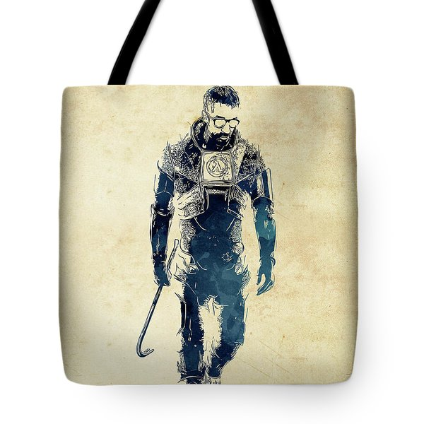 Gordon Freeman Tote Bag