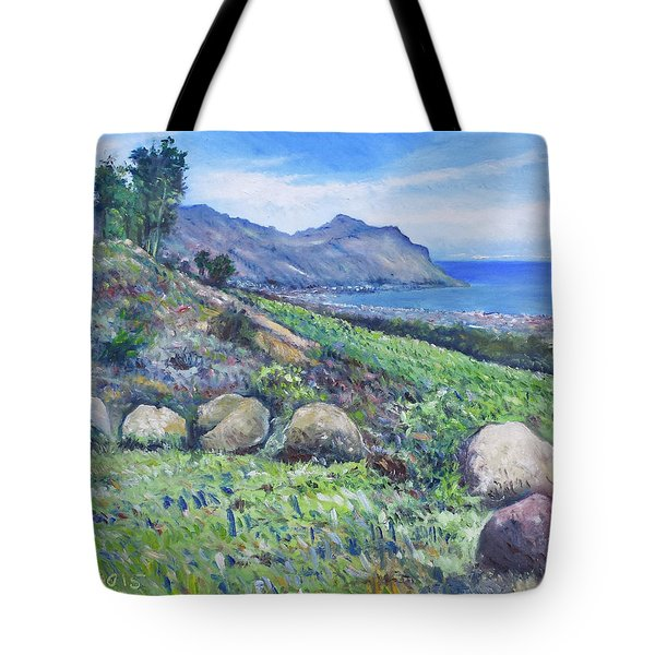 Gordon's Bay Cape Town South Africa Tote Bag by Enver Larney