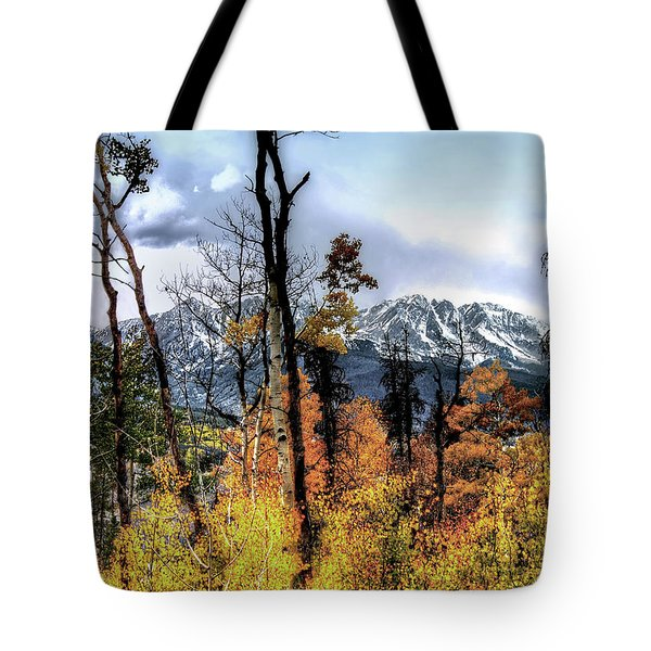 Gore Range Tote Bag by Jim Hill
