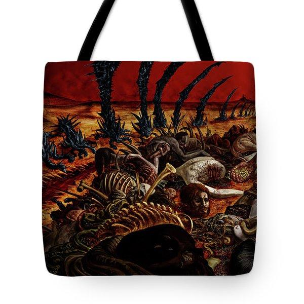 Gored-explored Tote Bag