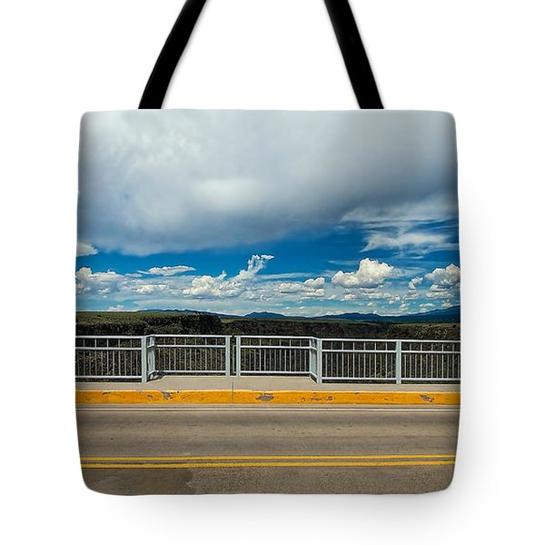 Gorge Bridge North View Tote Bag