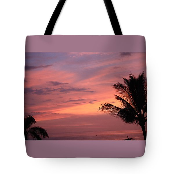 Tote Bag featuring the photograph Gorgeous Hawaiian Sunset - 3 by Karen Nicholson