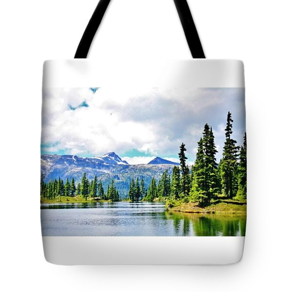Gorgeous Hike To The Campsite! #hike Tote Bag