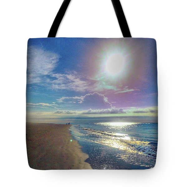 Gorgeous Morning On Sullivan's. Hope Tote Bag