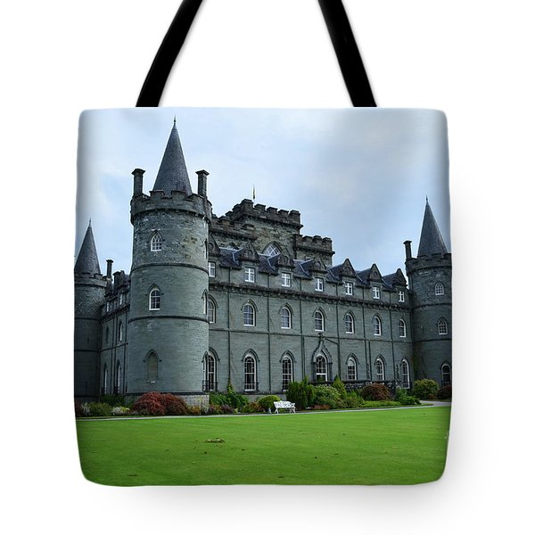 Gorgeous View Of Inveraray Castle Tote Bag