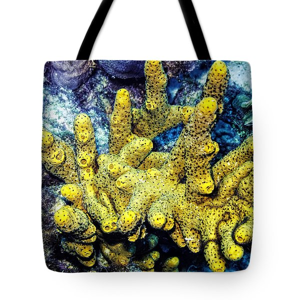 Gorgeous Yellow Tote Bag by Perla Copernik