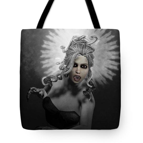 Gorgon Tote Bag by Joaquin Abella