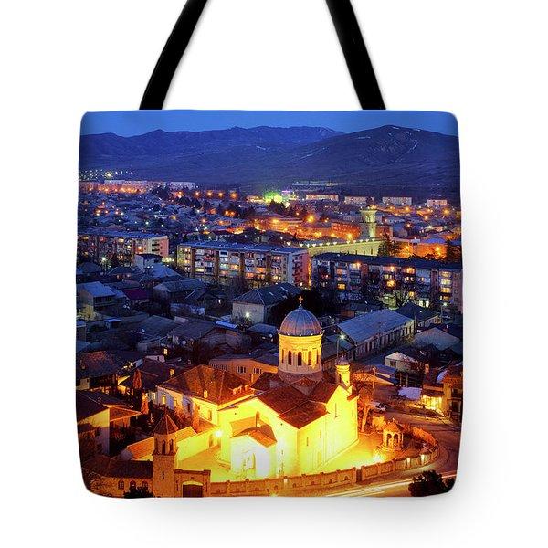 Tote Bag featuring the photograph Gori by Fabrizio Troiani