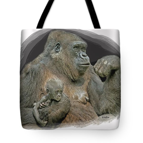 Gorilla Motherhood Tote Bag