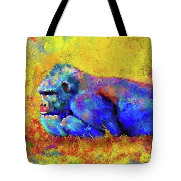 Gorilla Tote Bag by Test