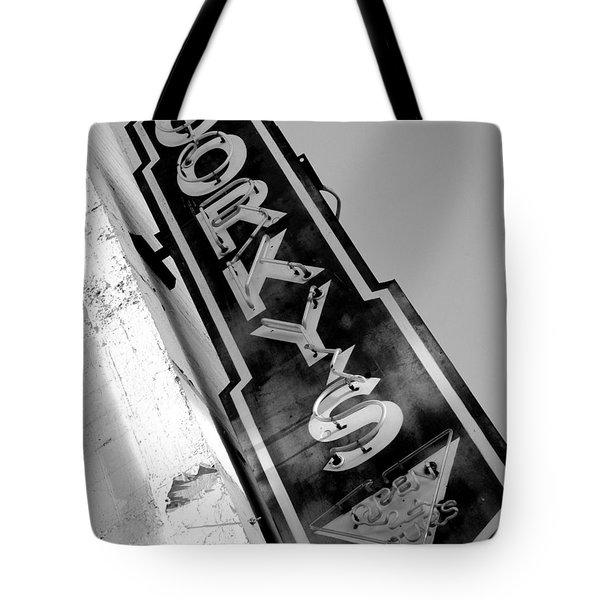 Gorky's Cafe Tote Bag by Jeff Lowe