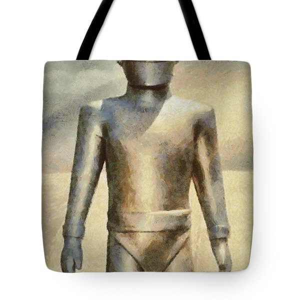 Gort From The Day The Earth Stood Still Tote Bag