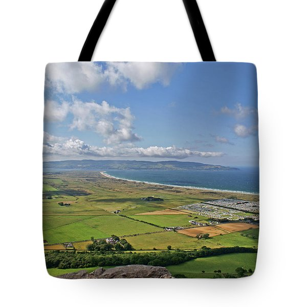Gortmore Viewpoint, Northern Ireland. Tote Bag
