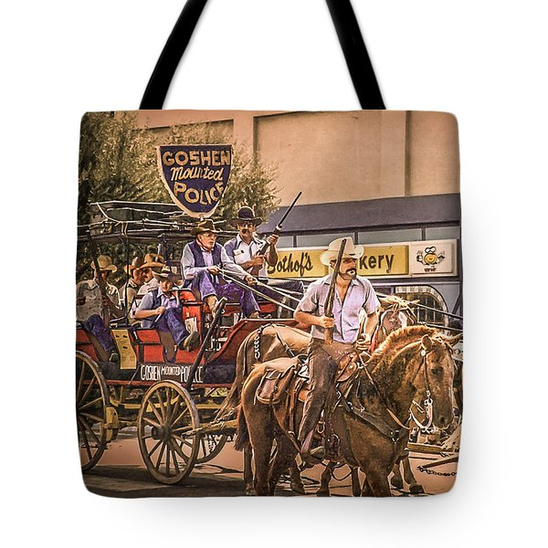 Goshen Mounted Police Tote Bag