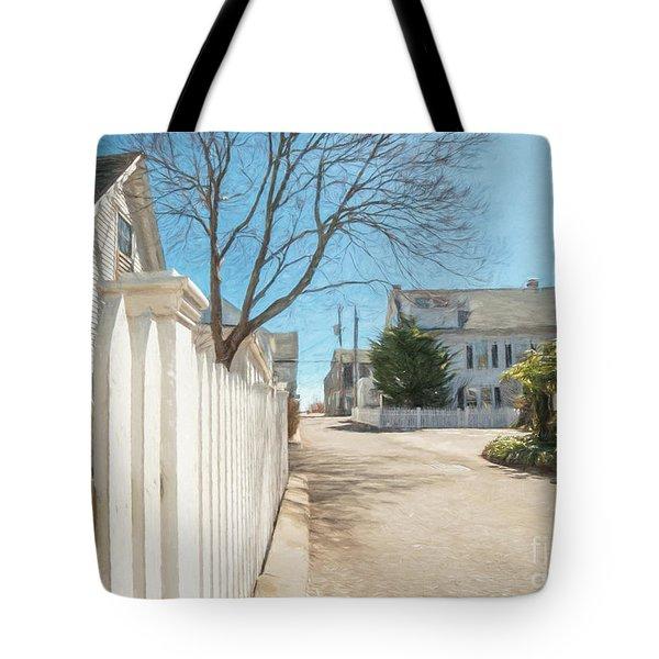 Gosnold St. Provincetown Tote Bag