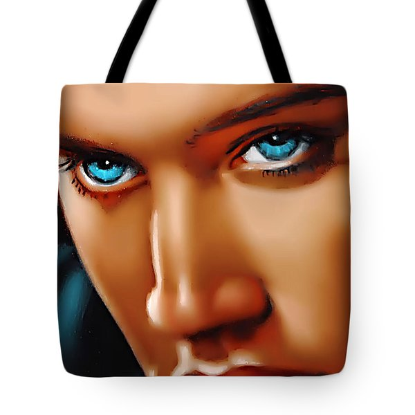 Gospel Elvis Tote Bag