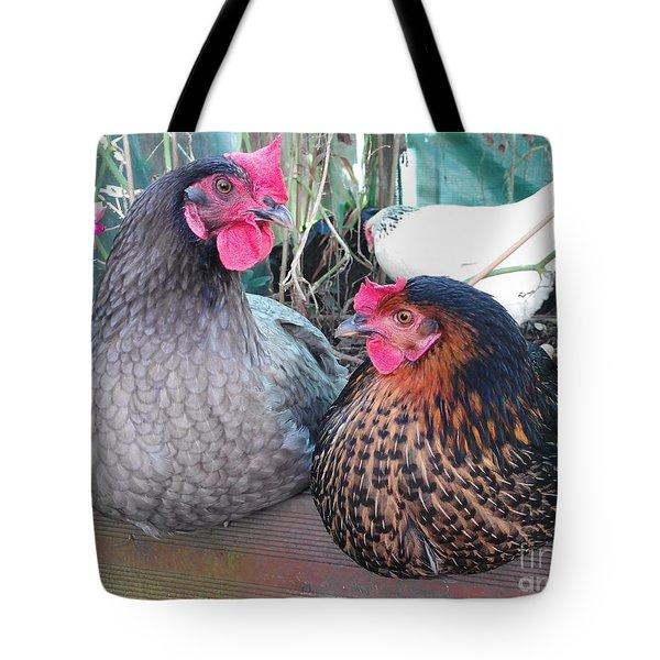 Gossip Girls Tote Bag