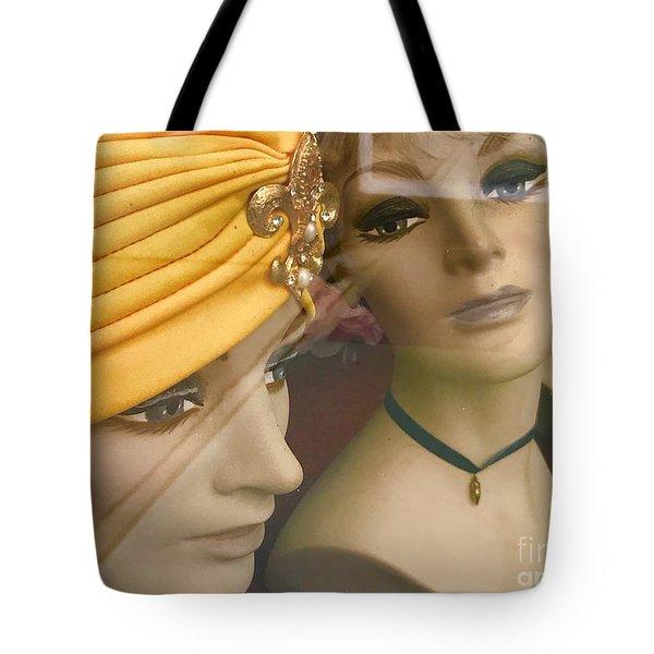 Gossip Girls Tote Bag by Trish Hale