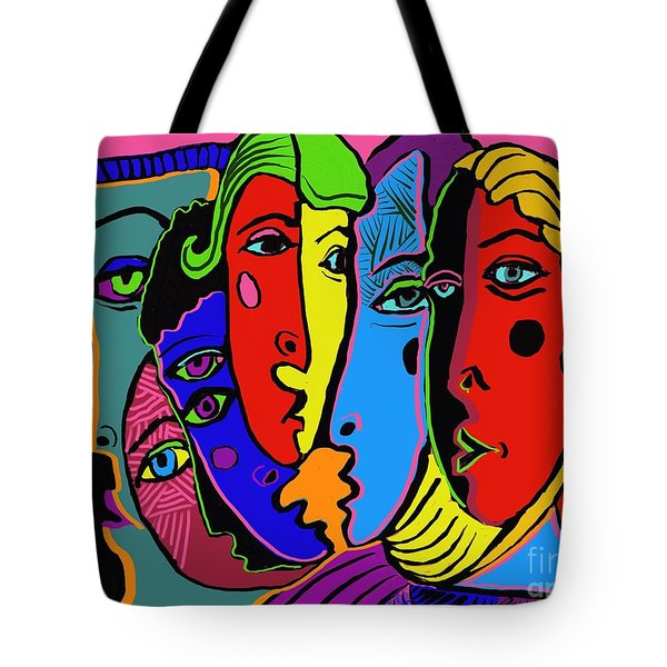 Gossip Tote Bag by Hans Magden