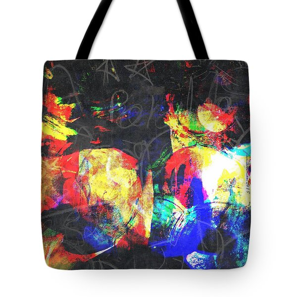 Gossiping Tote Bag by Fania Simon