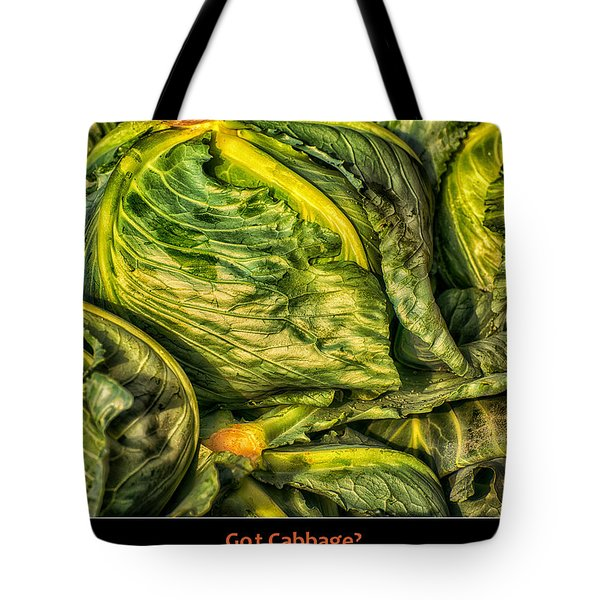 Got Cabbage? Tote Bag