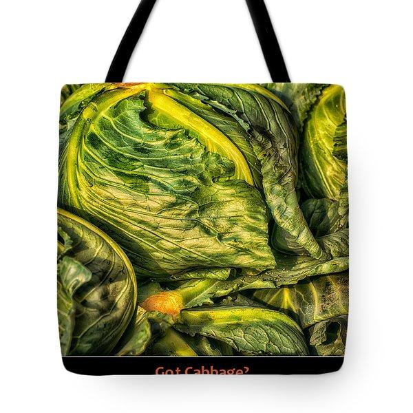 Got Cabbage? Tote Bag