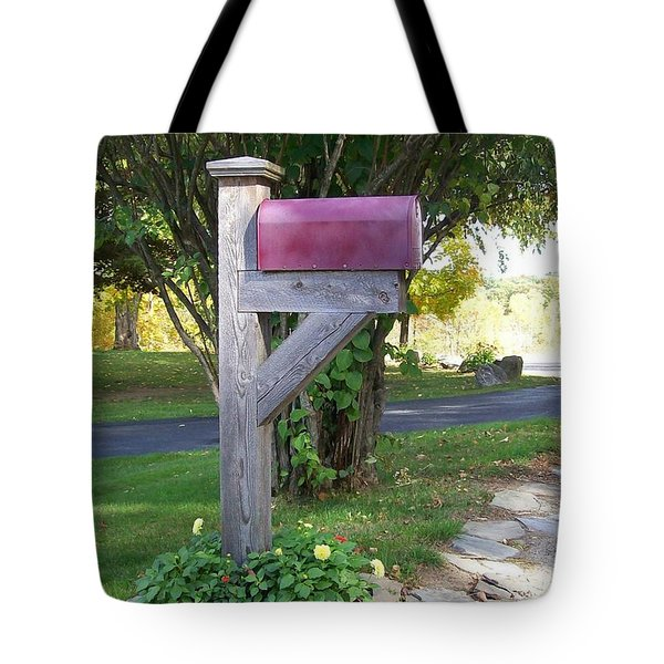 Tote Bag featuring the digital art Got Mail by Barbara S Nickerson