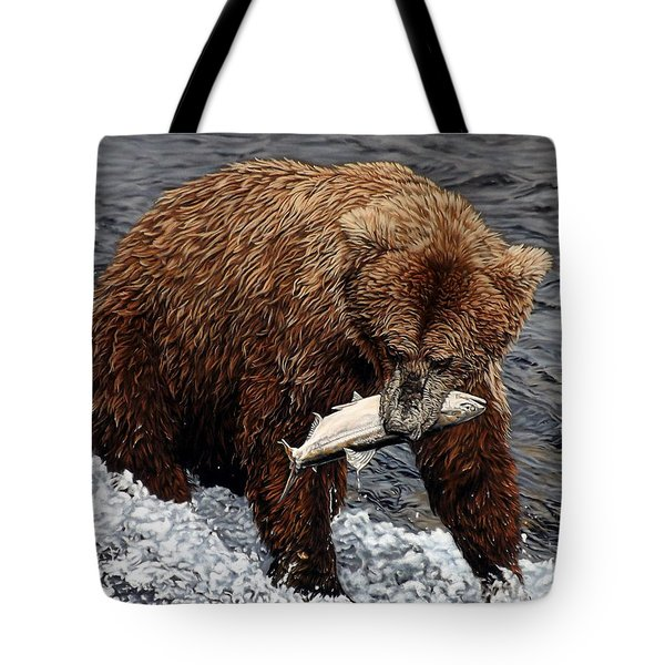 Gotcha Tote Bag by Linda Becker