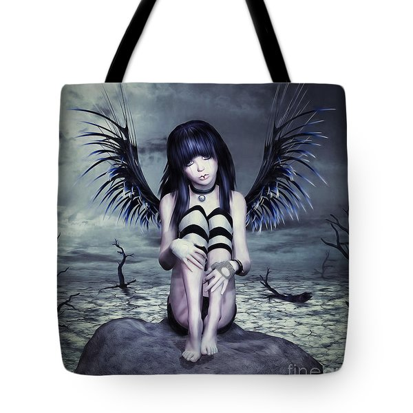 Goth Fairy Tote Bag