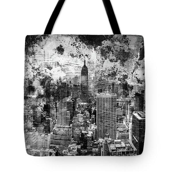 Gotham Castles Tote Bag