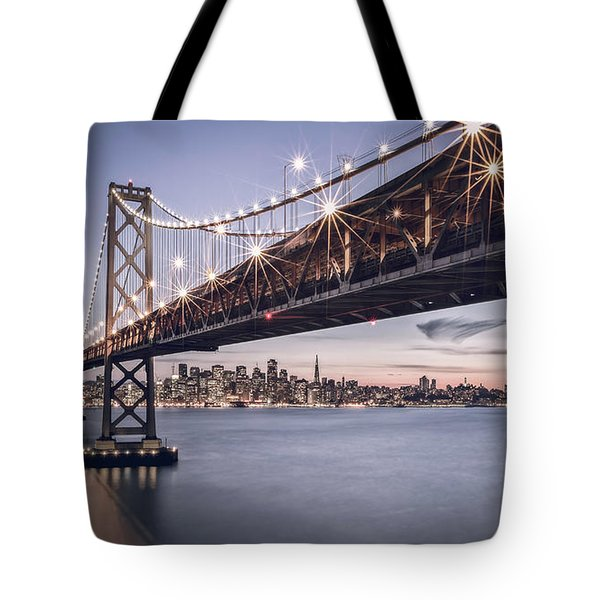 Gotham City Tote Bag by Eduard Moldoveanu