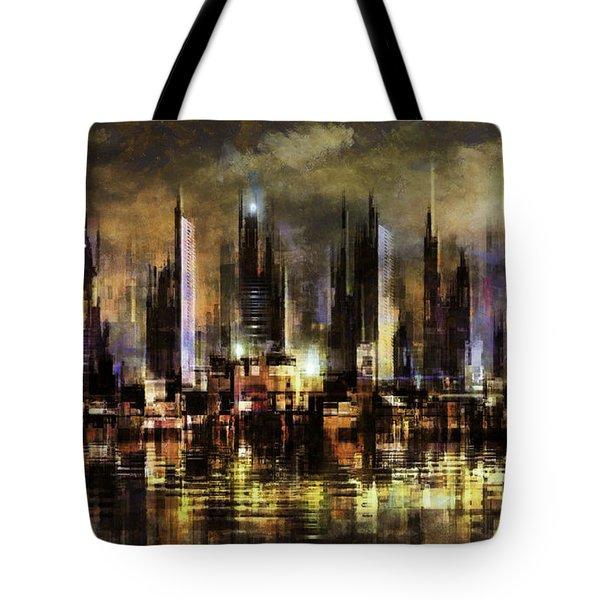 Gotham City IIi Tote Bag