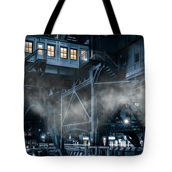 Gotham City Tote Bag by Mihai Andritoiu