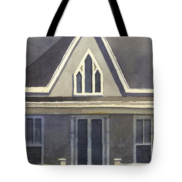Gothic American, New Harmony, In Tote Bag