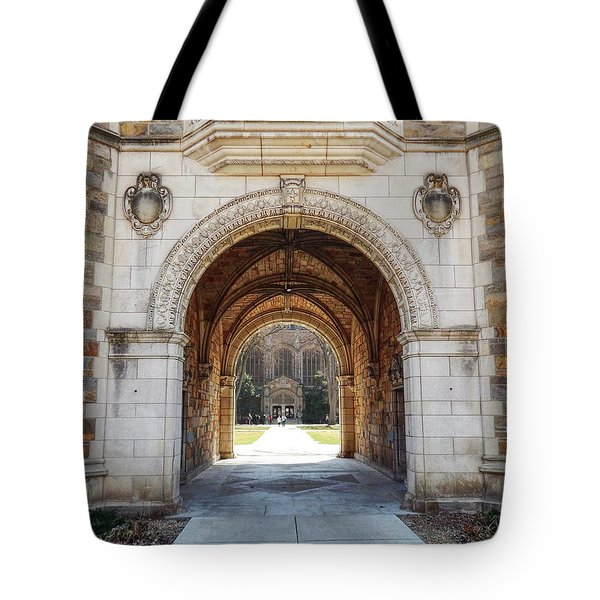 Gothic Archway Photography Tote Bag