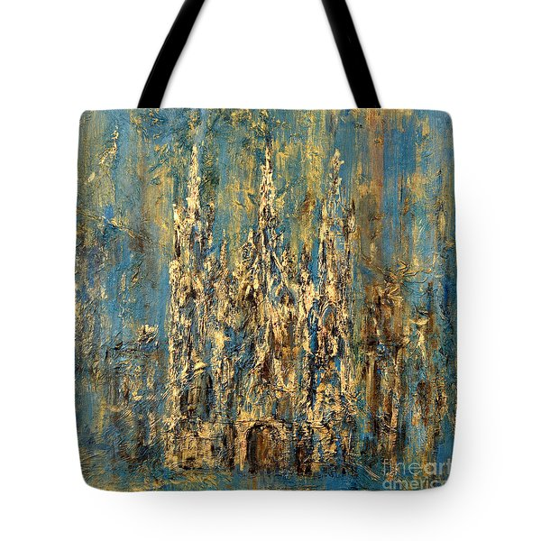 Gothic Church  Tote Bag by Arturas Slapsys