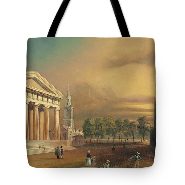 Gothic Church, New Haven Tote Bag